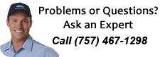 Contact us with problems or questions about Heat and AC Repair