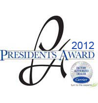2012 Carrier Presidents Award